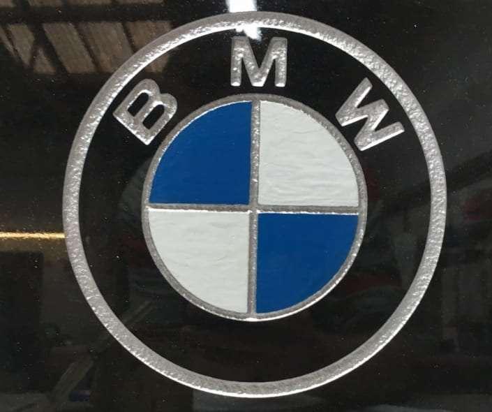 BMW car grave design