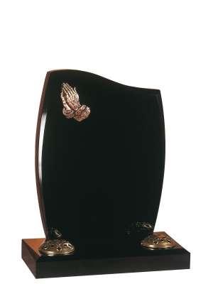 Dense Black Granite Memorial - EC1