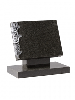 Dark Grey Granite Bookset Memorial - EC131