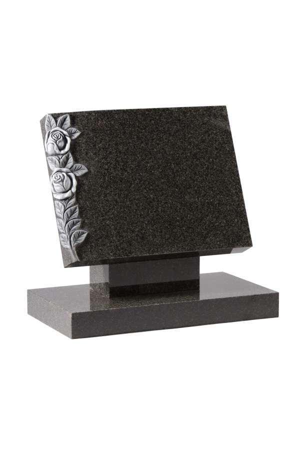 Dark Grey Granite Bookset Memorial - EC131