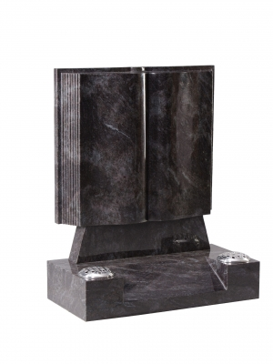 Bahama Granite Bookset Memorial - EC137