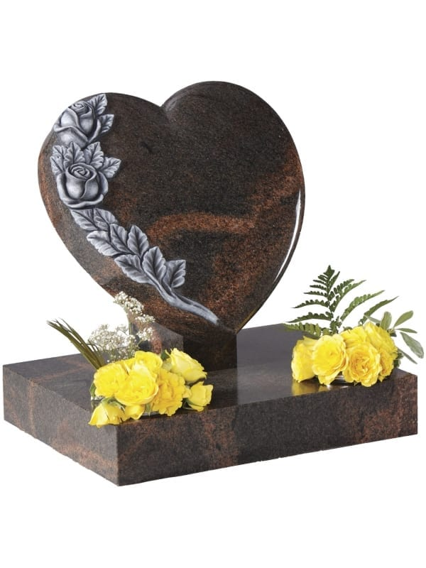 Aurora Granite Heart Memorial – EC151