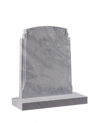 Dove Grey Marble Memorial - EC191