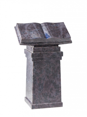 Bahama Blue Granite Memorial - EC202