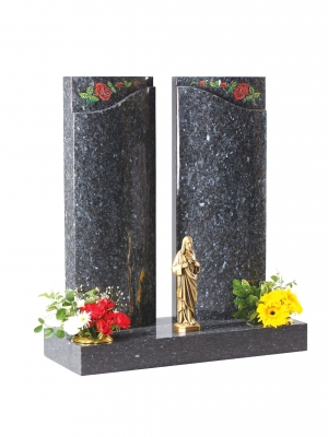 Blue Pearl Granite Memorial - EC203