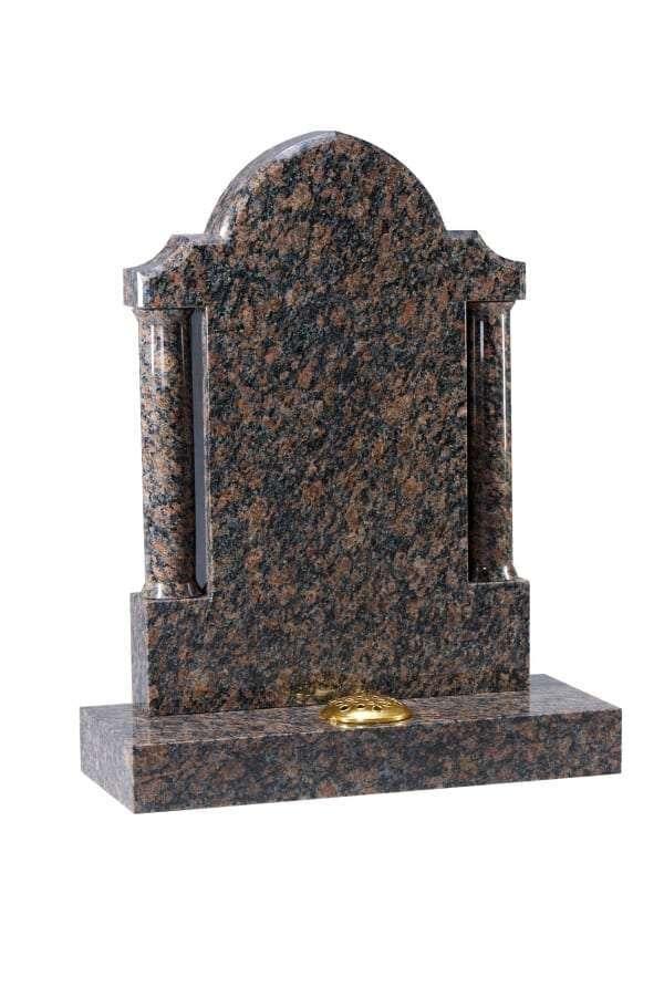 Sapphire Brown Granite Memorial - EC210