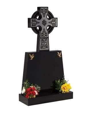 Dense Black Granite Memorial - EC213