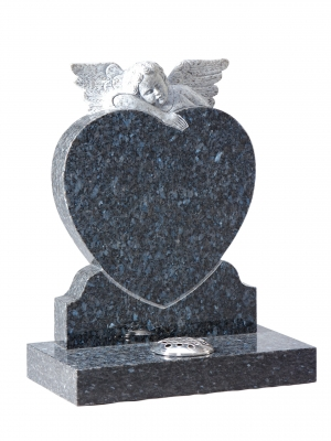 Blue Pearl Granite Children's Memorial - EC221