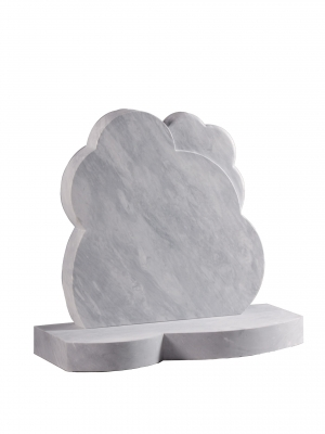 Dove Grey Marble Children's Memorial - EC233