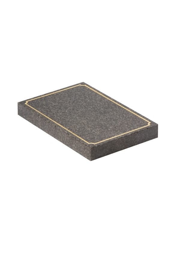 Dark Grey Granite Memorial Stone - EC246