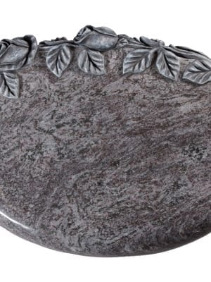 Bahama Blue Granite Memorial Stone - EC259