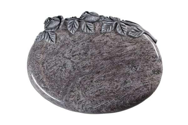 Bahama Blue Granite Memorial Stone - EC259