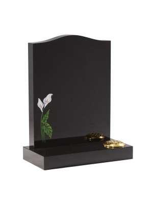 Dense Black Granite Memorial - EC32