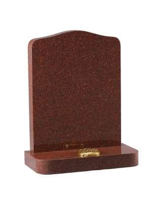 Ruby Red Granite Memorial - EC40