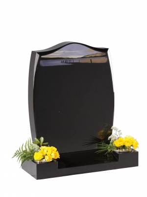 Dense Black Granite Memorial - EC5