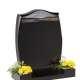 Dense Black Granite Memorial - EC5