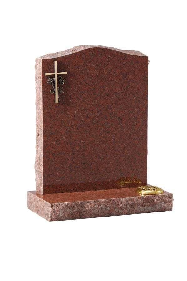 Ruby Red Granite Memorial - EC60