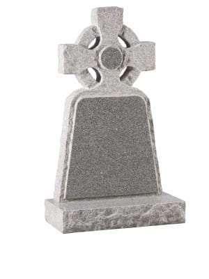 Lunar Grey Granite Memorial - EC62