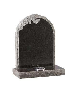 Dark Grey Granite Memorial - EC69