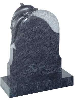 Bahama Blue Granite Memorial - EC73