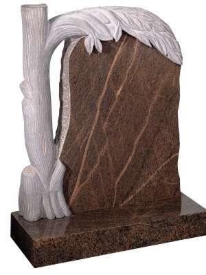 English Teak Granite Memorial - EC74
