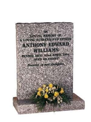 Mervyn Grey Granite Memorial - EC78
