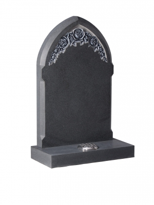 Flint Grey Granite Memorial - EC79