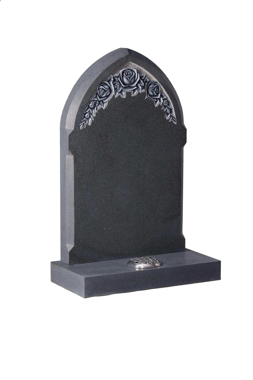 Flint Grey Granite Memorial Ec79 Alver Stones
