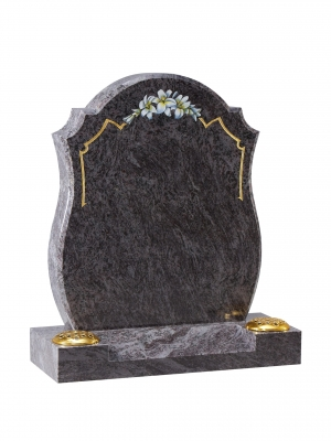 Bahama Blue Granite Memorial - EC8