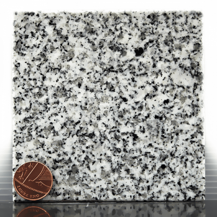 Surf Grey Granite headstone sample