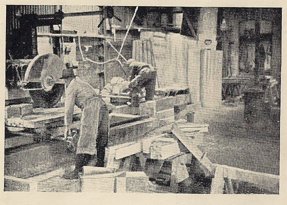 alver stones history postcard
