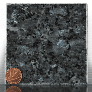 blue pearl headstone sample