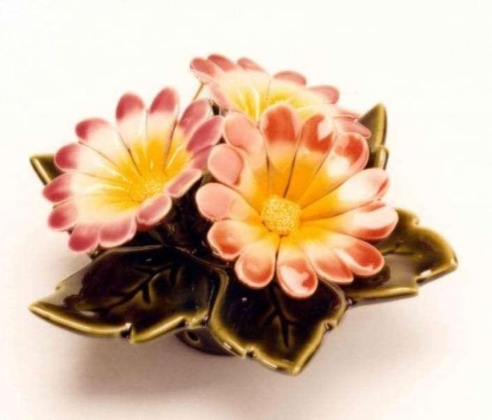 cherry flower for grave headstone