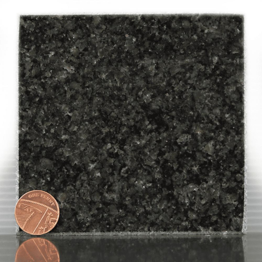 dark grey headstone sample
