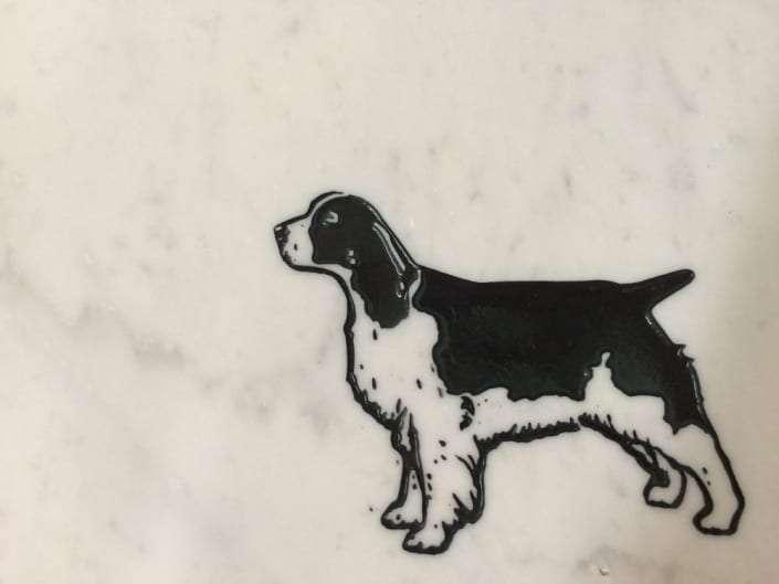 dog grave design