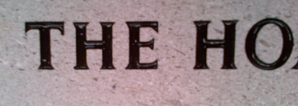 example grave lettering