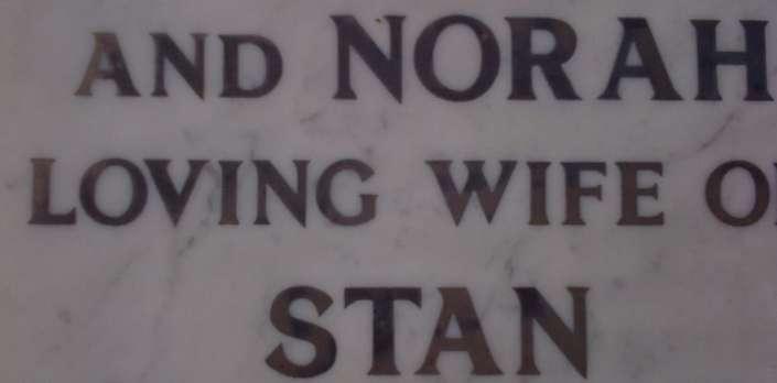 example gravestone lettering