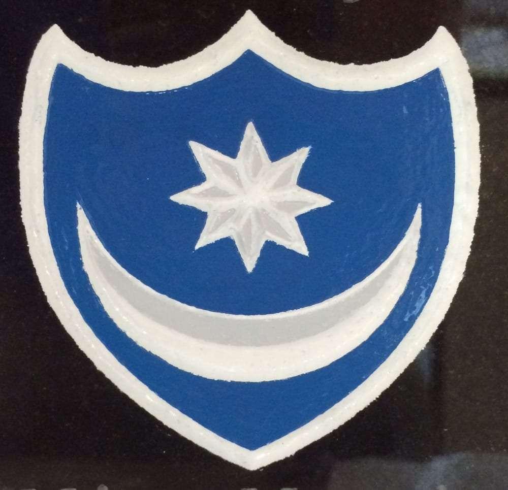 portsmouth fc logo grave design