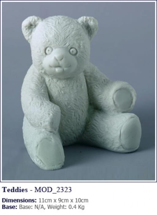 teddy bear grave statue