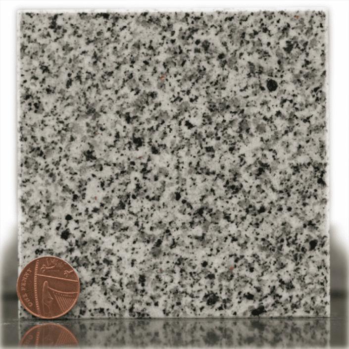 warwick grey granite headstone sample