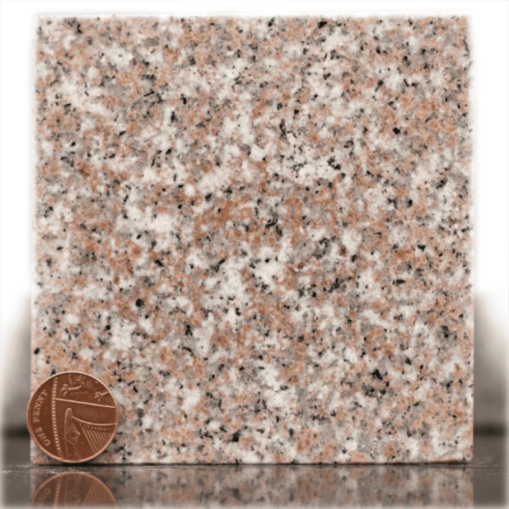 xiamen pink granite headstone sample